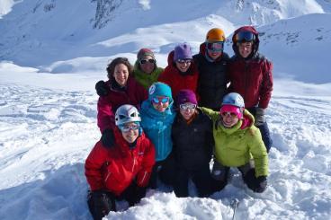 sélections GFHM - groupe féminin de haute-montagne CAF
