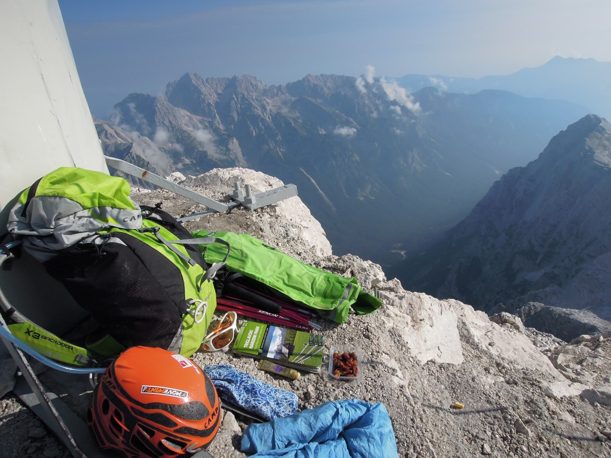Un sac pour ... l'ascension du Triglav (Slovénie)