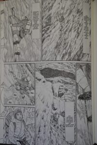 Le sommet de dieux livre montagne japon bande dessinée