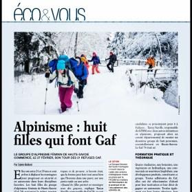 article,presse,eco,savoie,gaz,alpinisme,féminin