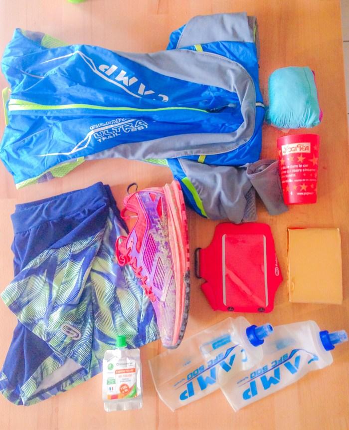 sac pour un premier trail - course running feminarace feminin