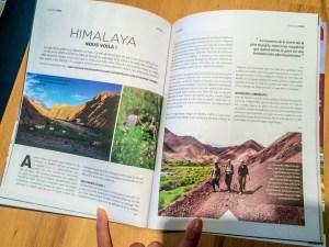 Magazine escapeprintemps 2016 ladakh himalaya autonomie filles markha inde Trek au ladakh - / www.pasquedescollant.com