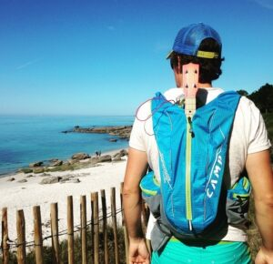 Test sac ultra trail vest montagne CAMP