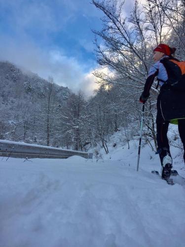 Yukari Nishida women's skimo project
