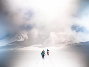 Asahidake mont hokkaido ski de rando japon