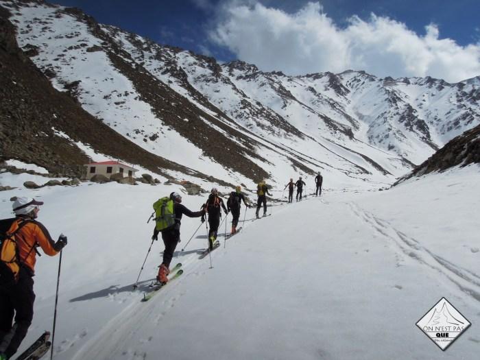 SKI EN IRAN Expedition en ski de randonnee Iran nourouski http://pasquedescollants.com blog montagne et sport outdoor