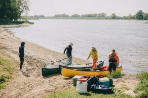 Micro aventure canoe bivouac sur la loire on n est pas que des collants blog outdoor1