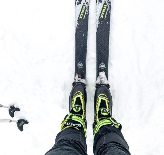 test scarpa alien RS chaussures ski de rando