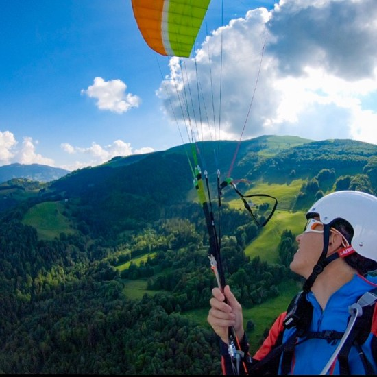 initiation au parapente blog outdoor sport