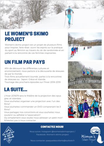 flyer women s skimo project 2