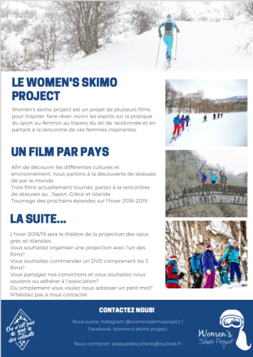 flyer women s skimo project 2