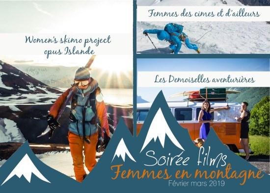 flyer femme en montagne 2019