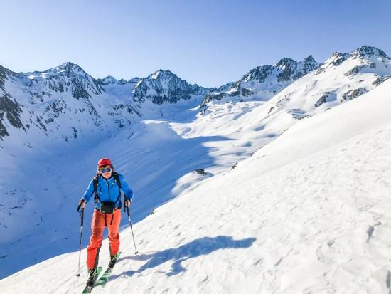 Ski de randonnée en tyrol autrichien