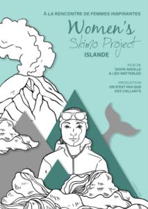 affiche women s skimo project WSP - islande