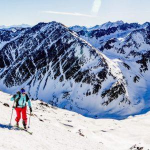 autriche ski de randonnée en Tyrol Stubai