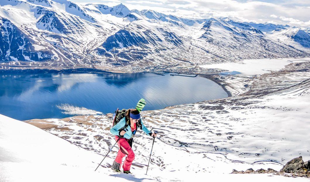 Islande On n est pas que des collants voyage ski de rando peninsule des trolls blog