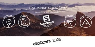 Affiche Play Minded Program Salomon