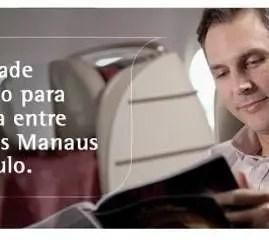 TAM lança nova tarifa p/ classe executiva entre São Paulo e Manaus