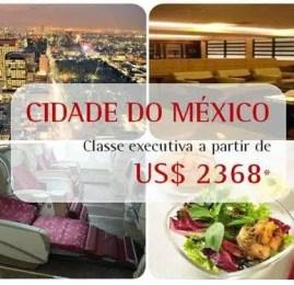 TAM – Promoção classe executiva para o México