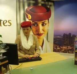 Emirates abre loja no aeroporto de Guarulhos