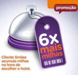 Smiles – Ganhe 6 milhas por U$ gasto