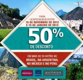 Accor Hotels oferece 50% de desconto em hotéis no Brasil, Argentina, México e Peru