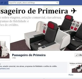 Passageiro de Primeira estréia página no Facebook