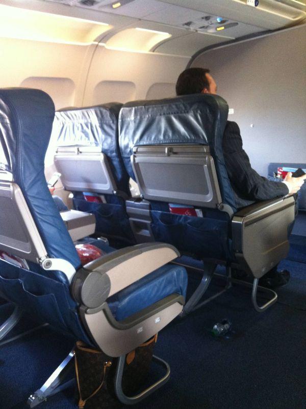 Delta First Class DC9-50