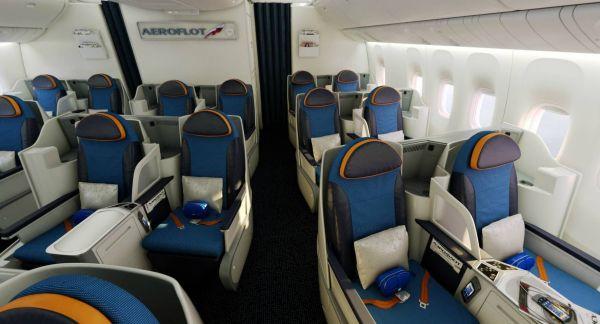 Aeroflot Boeing 777-300ER Business Class