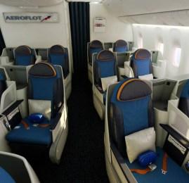 Aeroflot recebe seu Boeing 777-300ER com nova classe Executiva