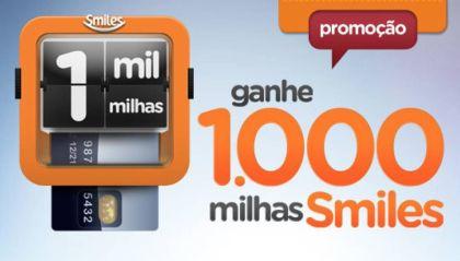 Smiles 1000 milhas