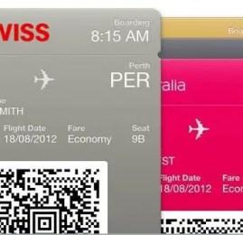 SWISS oferece check-in com suporte ao Passbook
