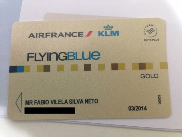 Air France Flying Blue Gold