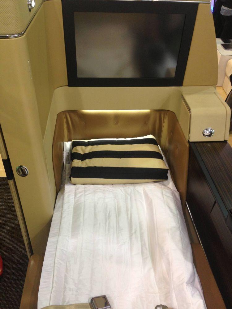 Primeira Classe Etihad Airways - Diamond First Class Suite