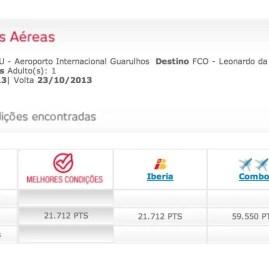 Iberia: Passagem de ida e volta pra Europa por 22.000 pontos