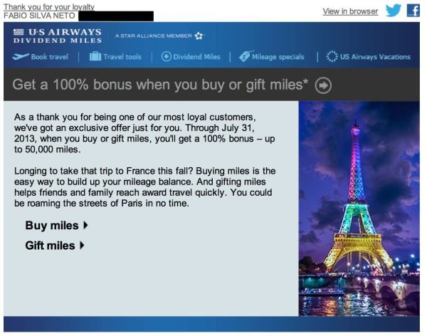 us airways compra