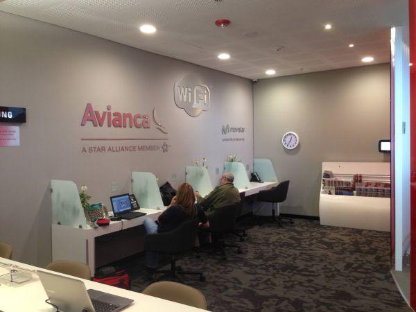 Sala VIP Avianca Bogota
