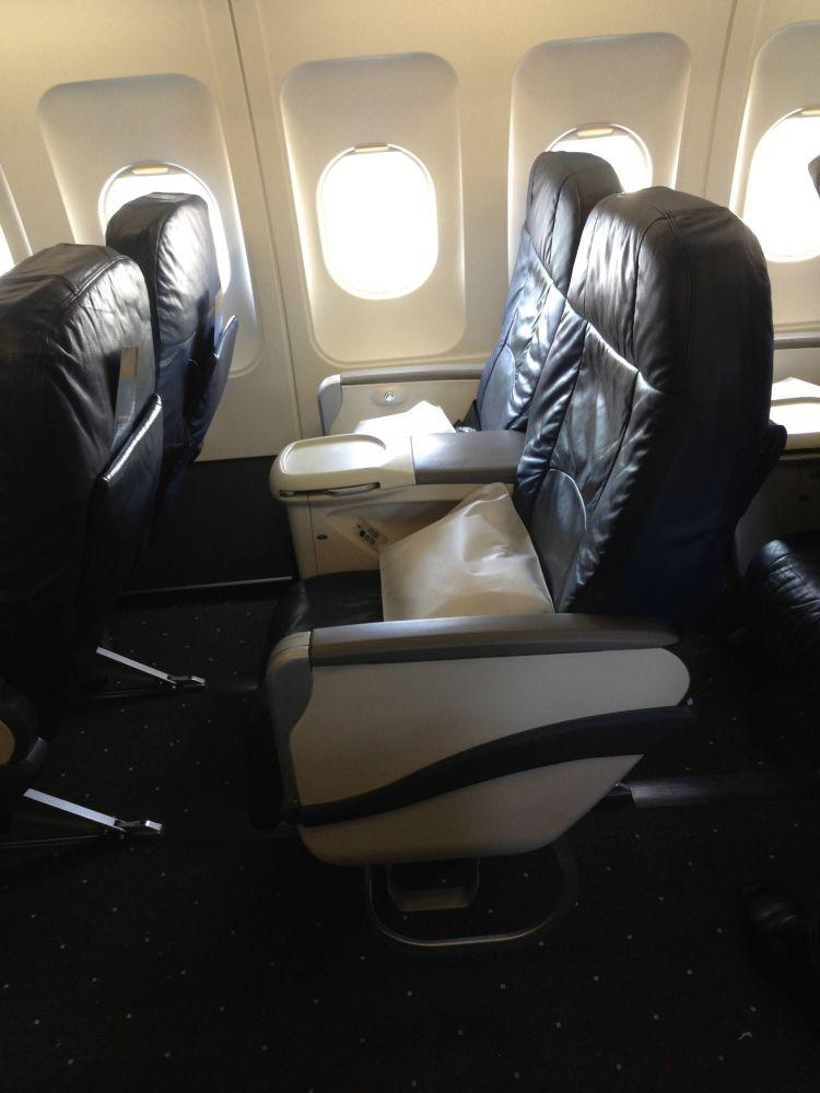 US Airways A321 First Class
