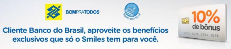 smiles banco do brasil