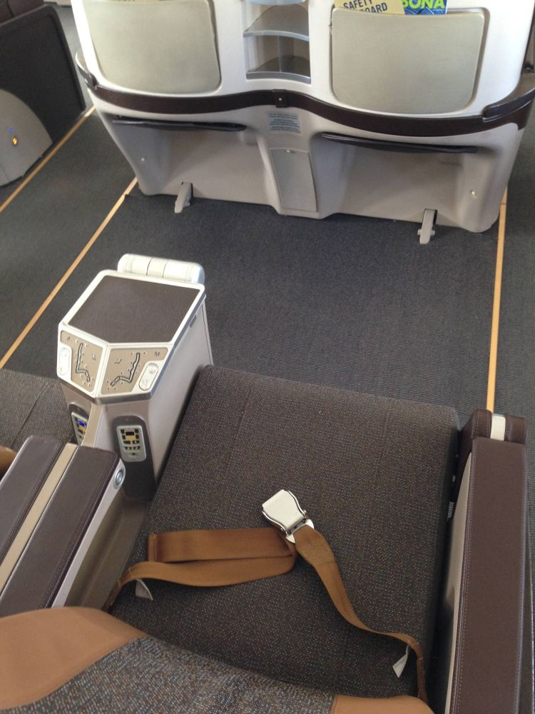 South African Airways Business Class Executiva A340