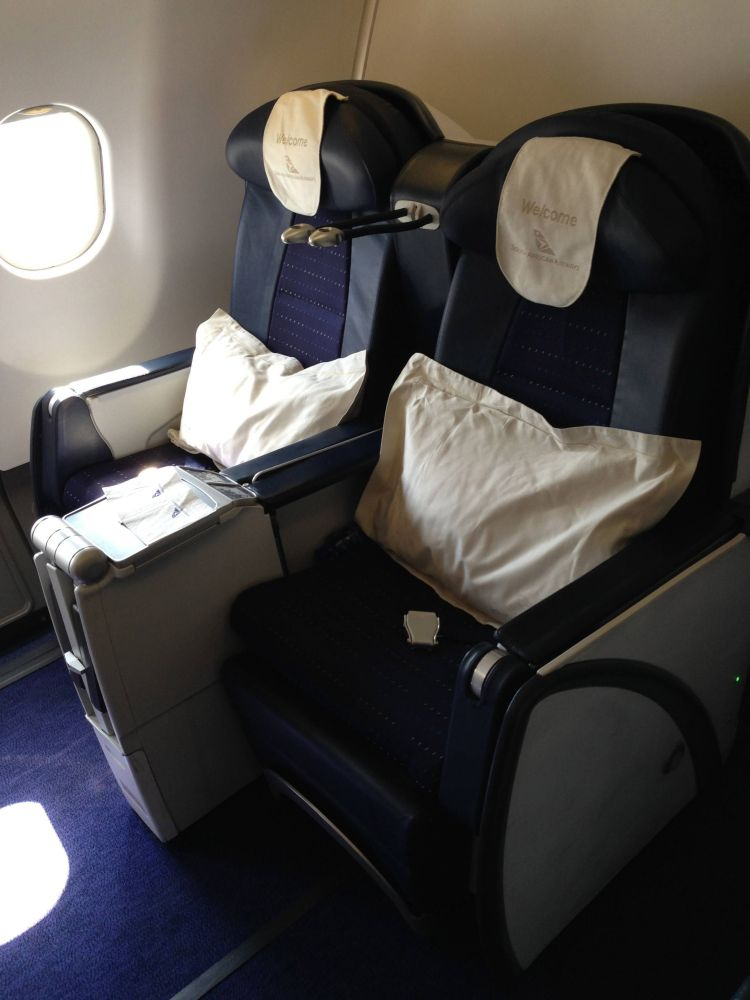 South African Business Class Executiva A340