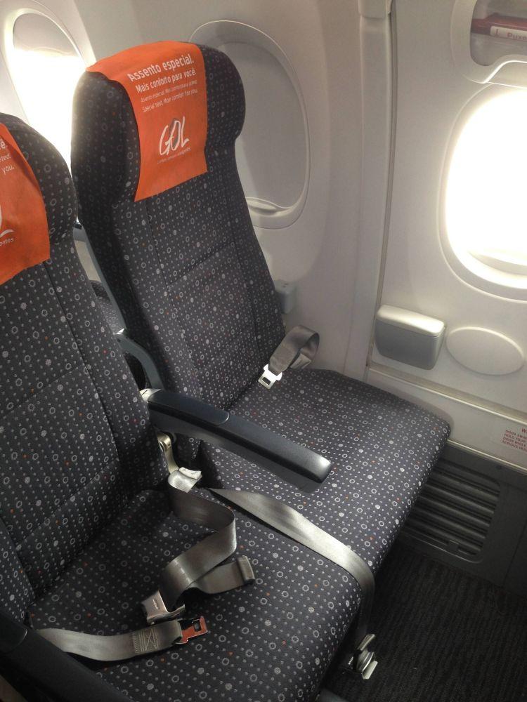 Boeing 737-800 GOL Sky Interior
