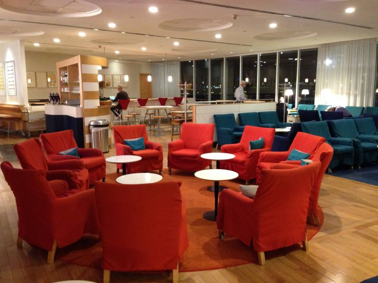 sas business lounge sala vip newark