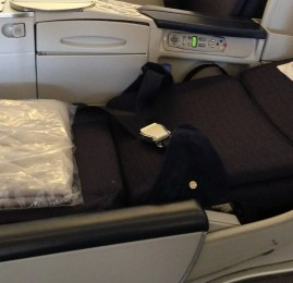 Classe Executiva da Air France no Boeing 777-200ER