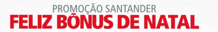 santander bonus natal pontos