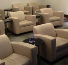 Sala VIP United Club no Aeroporto de Houston (IAH)