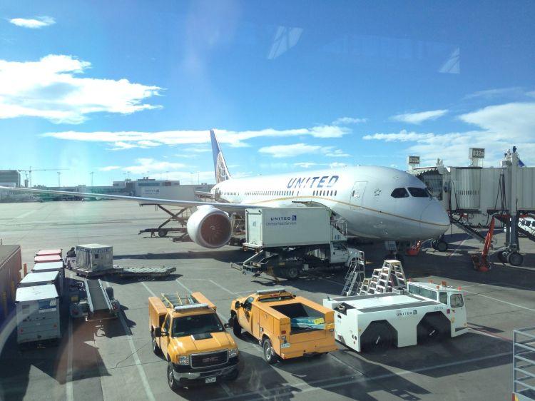 United Boeing 787 Classe Executiva BusinessFirst