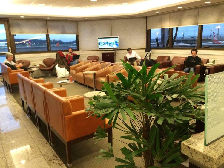 Sala vip Admirals Club Sao Paulo