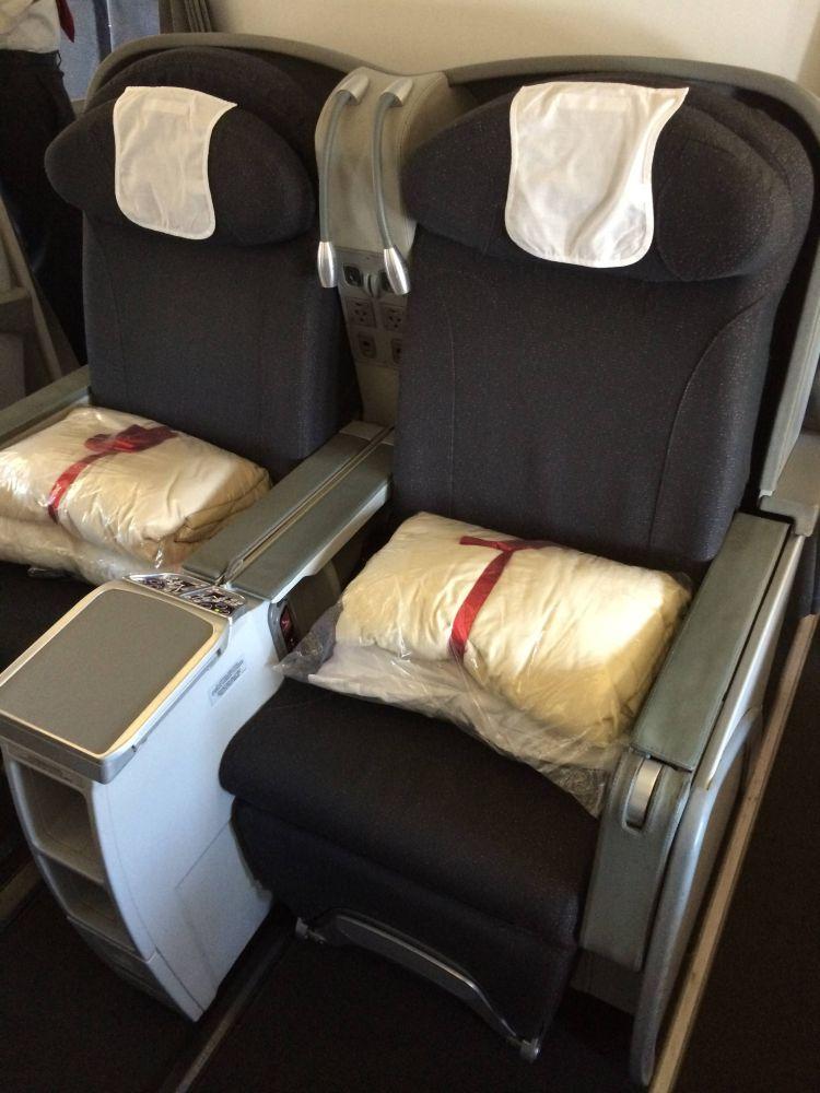 Avianca A330 classe executiva business class