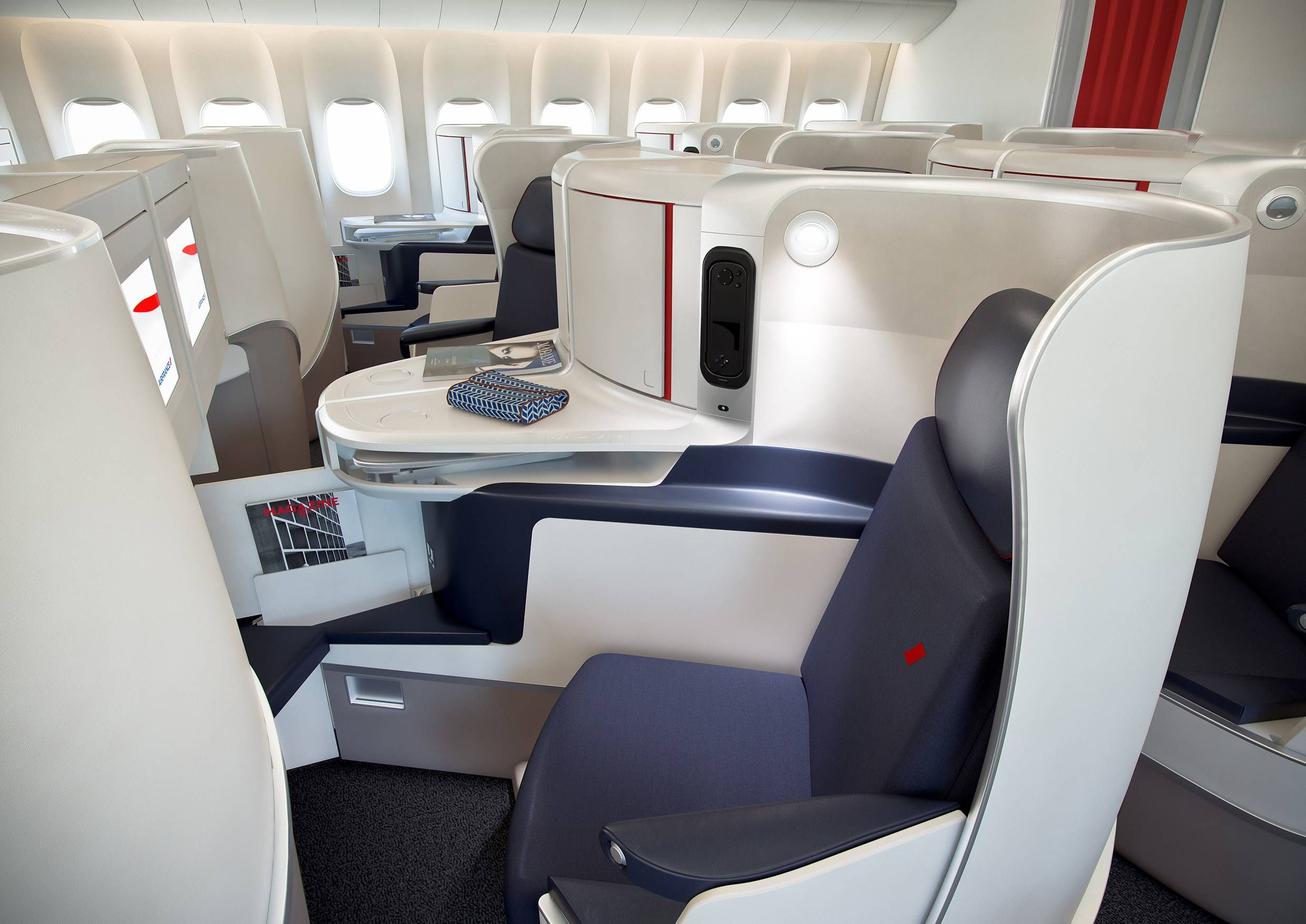 Air France nova executiva new business class